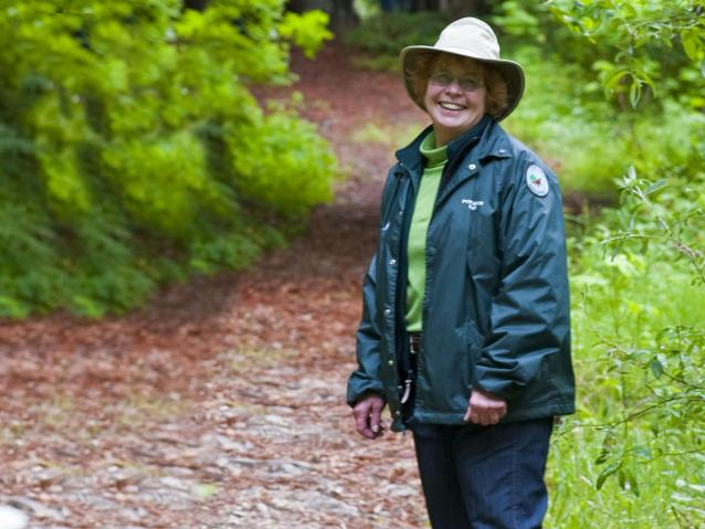 photo of a Point Lobos Docent