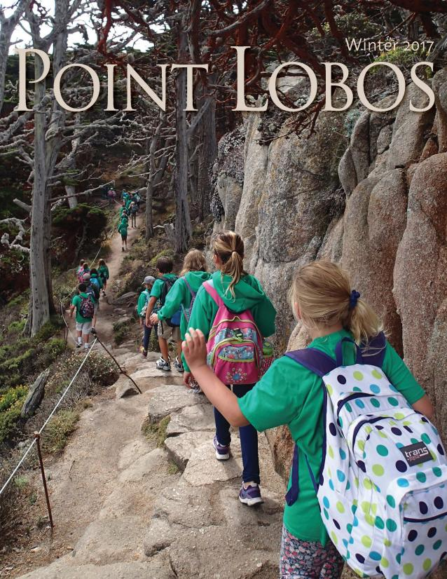 Cover of Winter 2017 Point Lobos Magazine