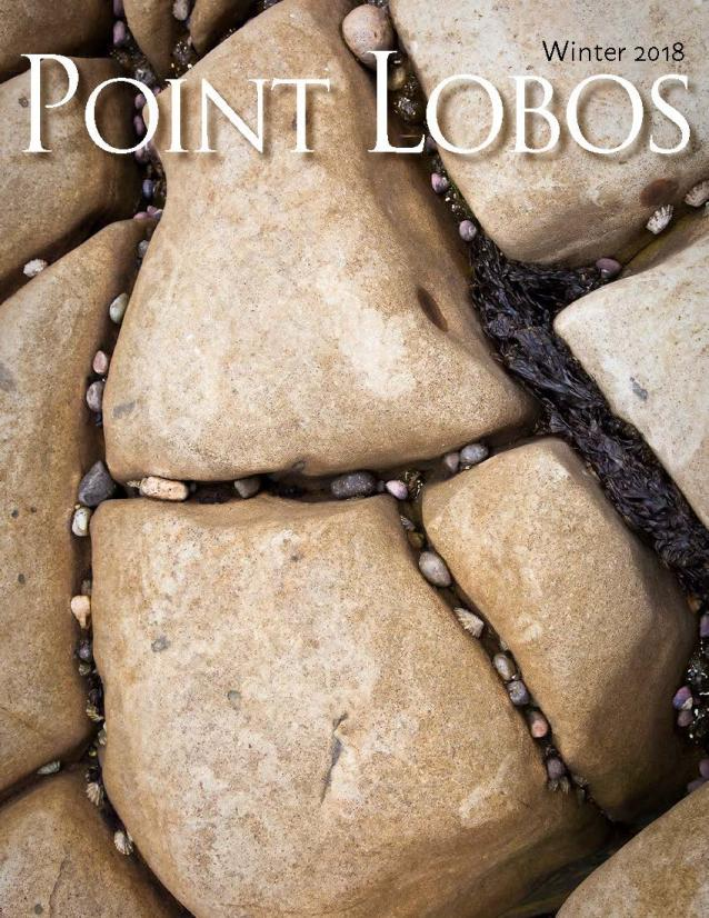 Cover of Winter/2018 Point Lobos Magazine