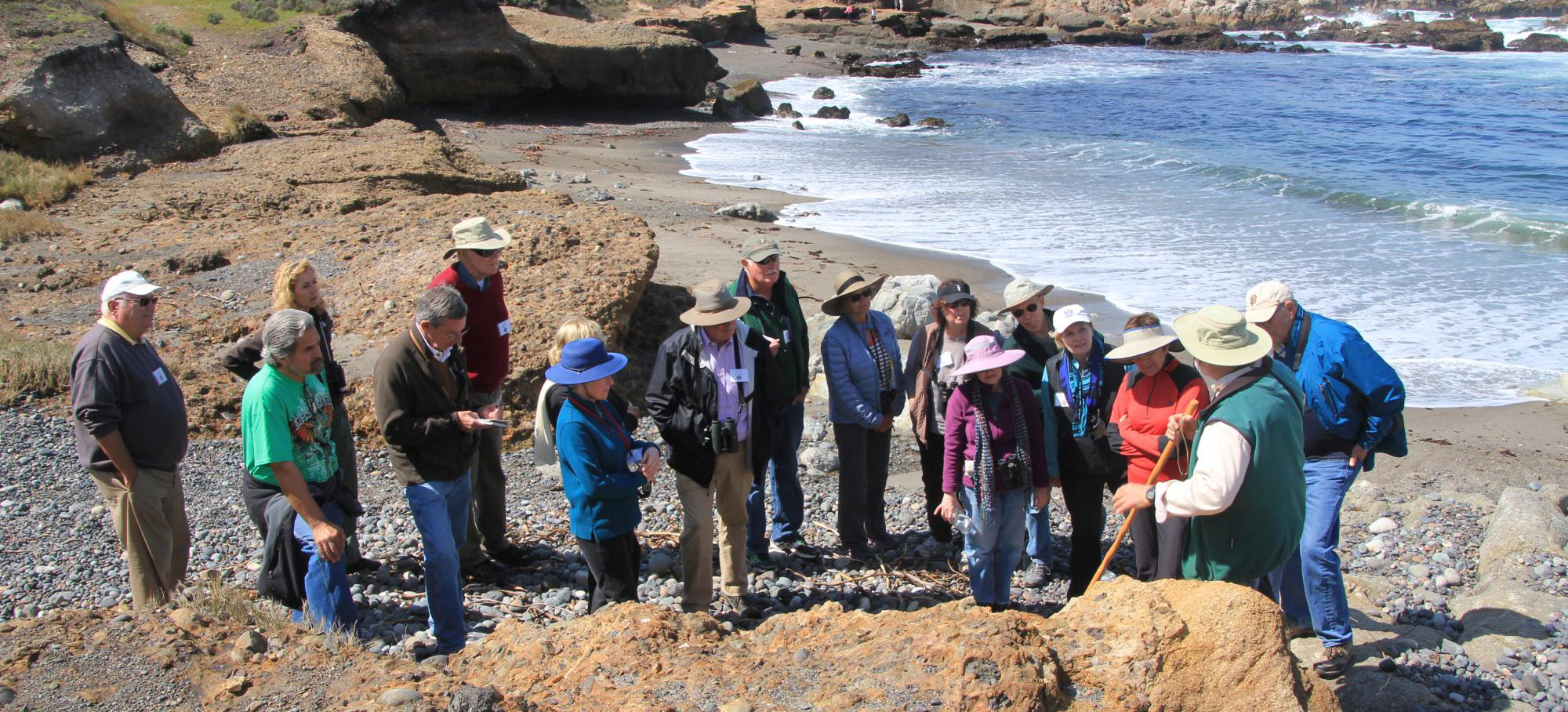 photo of a Point Lobos docent led tour